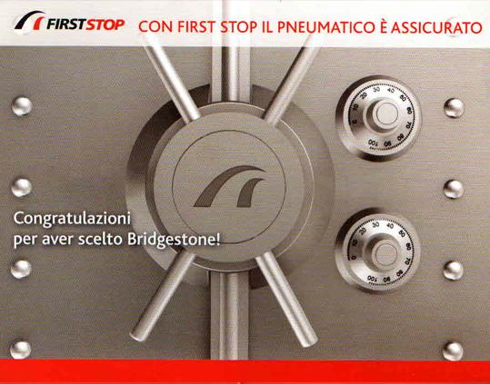 Assicurazione gratuita Firststop